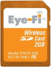 Eye-Fi Share 2 GB Wi-Fi SD Flash Memory Card EYE-FI-2GB (Old Version)