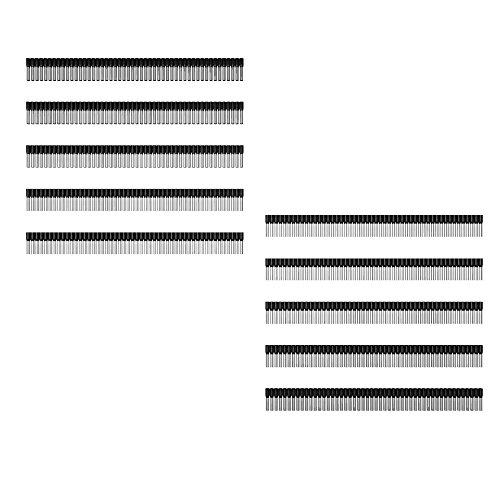 Weidmüller 9004350000 1.5mm²/8mm H1,5/14D SW BD AWG16 Aderendhülsen Aderendhülsenstreifen 500Stk. schwarz  5474