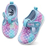 FEETCITY Water Shoes Kids Boys and Girls Aqua Socks Quick Dry Barefoot for Beach Outdoor Sports Toddler 7