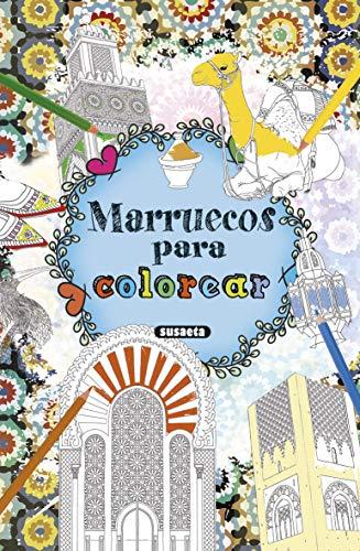 Marruecos para Colorear (Imágenes del mundo para colorear)