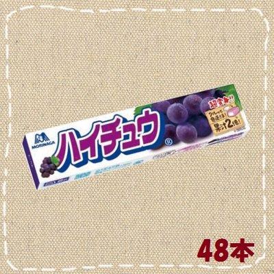 森永 ハイチュウ グレープ 48本(12本入り4BOX)