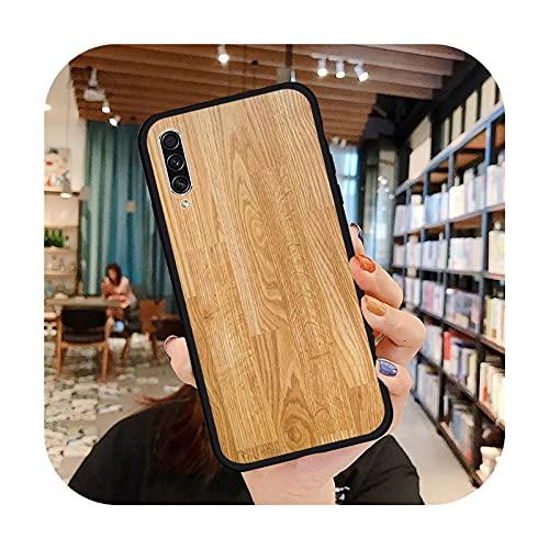 moda de madera moda teléfono caso para Samsung A20 A30 30s A40 A7 2018 J2 J7 prime J4 Plus S5 Note 9 10 Plus cubierta funda-a3-Samsung J4 plus