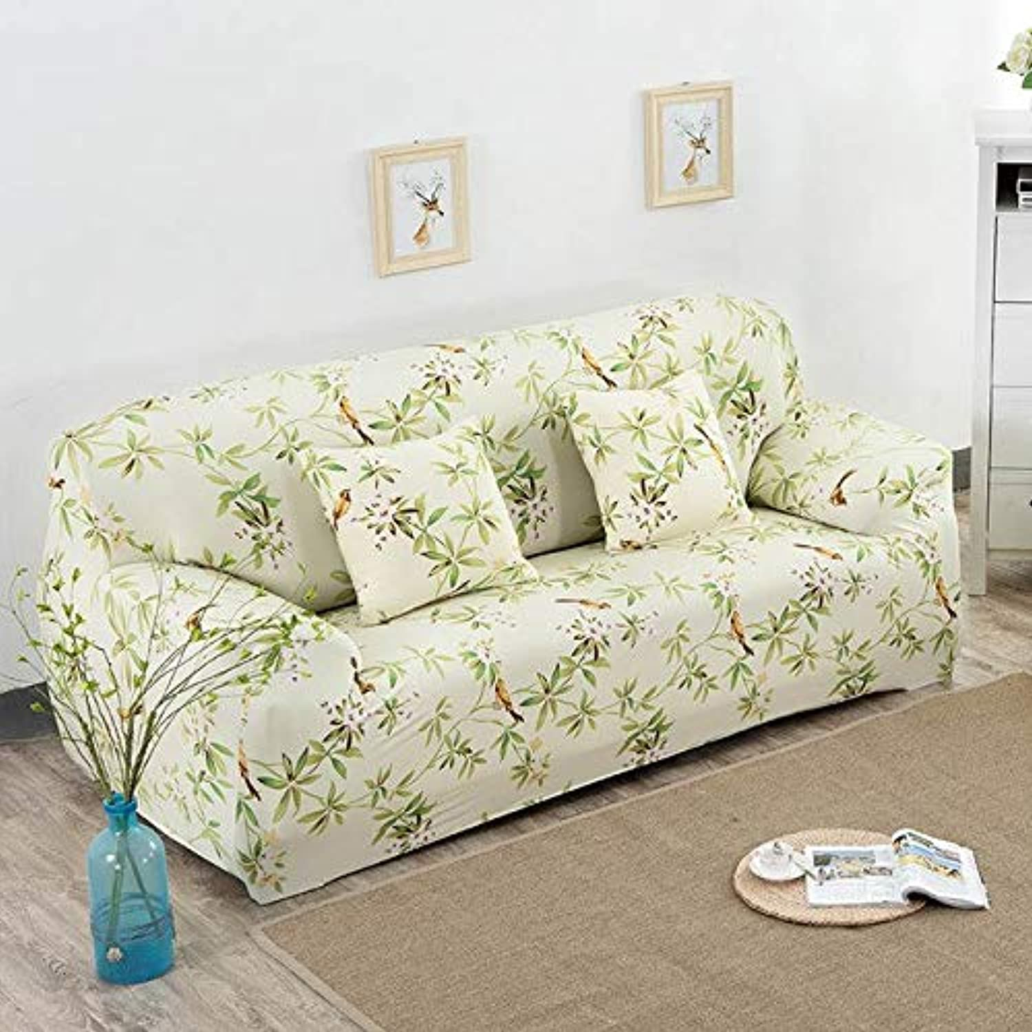 Universal Three Seater Sofa Cover for Lig Room Tight Seat Cover Slipcover Stretch Couch Cover on The Corner Sofa Blanket   5, Two Seater