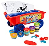Sambro – Chariot en Plastique Mickey Mouse, Multicolore (DSM4-4401)