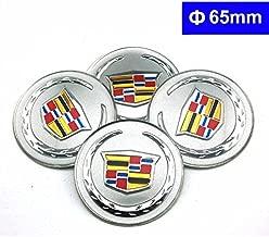 4pcs C083 65mm Car Styling Accessories Emblem Badge Sticker Wheel Hub Caps Centre Cover Cadillac ATS CTS EXT SRX XTS XLR