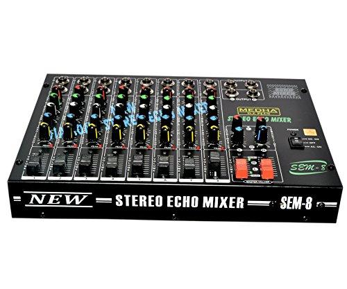 MEDHA D.J. PLUS 8 Channel Stero Echo Mixer