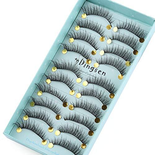 maquillage pour les yeux sans cruauté pure handmade naturel fluffy des faux cils extension des outils tous les cheveux doux vison 3d