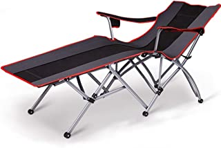 DaQingYuntur Folding Sheets People Office Bed Chair, Portable Beach Folding Bed, Camping Bed Outing, Family Leisure