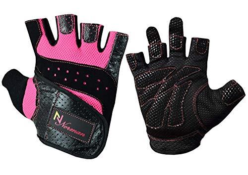 Gel guantes Fitness gimnasio desgaste levantamiento de peso entrenamiento formación/ciclismo mujer,