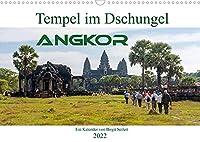 Tempel im Dschungel, Angkor (Wandkalender 2022 DIN A3 quer): Die Tempelanlage Angkor hat viel mehr zu bieten als Angkor Wat (Monatskalender, 14 Seiten )
