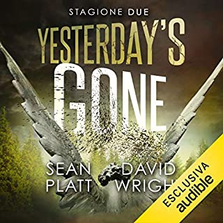 Yesterday's gone copertina