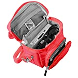KIICKS Nintendo DS GAME & CONSOLE TRAVEL BAG Red,