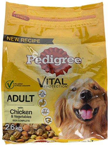 PEDIGREE Vital Protection Hunde Trockenfutter (2,6kg) (Huhn & Gemüse)