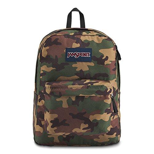 JANSPORT Superbreak Backpack Surplus Camo Schoolbag JS00T5014J9 Rucksack JANSPORT Bags