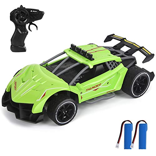 Drift RC Cars, 1/18 Scale Remote Control Car, 2.4Ghz High Speed Racing Sport Car, Electric Toy Car Best Xmas Gifts Birthday Gift for All Adults & Kids (5618-4)