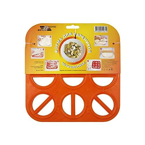 Maultaschenformer Wareniza pelmeniza für 18 Maultaschen orange