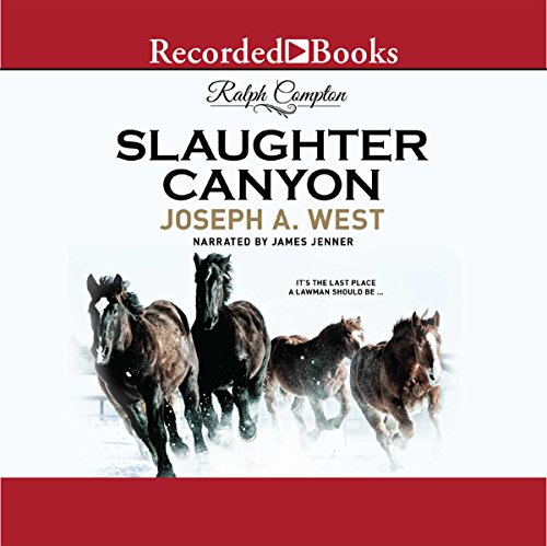 Slaughter Canyon audiobook cover art