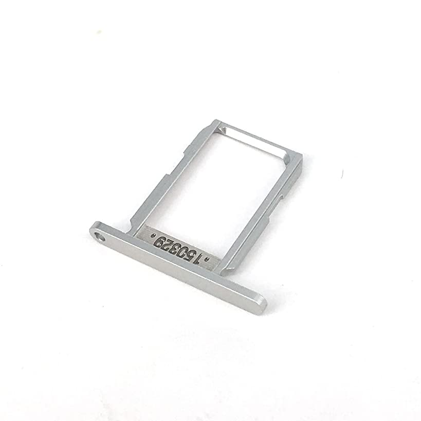E-repair SIM Card Tray Holder Slot Replacement for Samsung Galaxy S6 G920 (Silver)