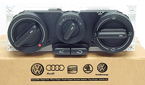 Genuine VW Air Conditioner and Heater Controls Beetle Coupe and Convertible 1998-2010 1C0820045E01C