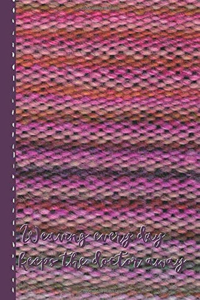 看板ちなみに選出するWeaving every day keeps the doctor away: blanc notebook for weaving addicts and weaving fans – weaving rocks – 6 x 9 inch - I'm sew happy! Design