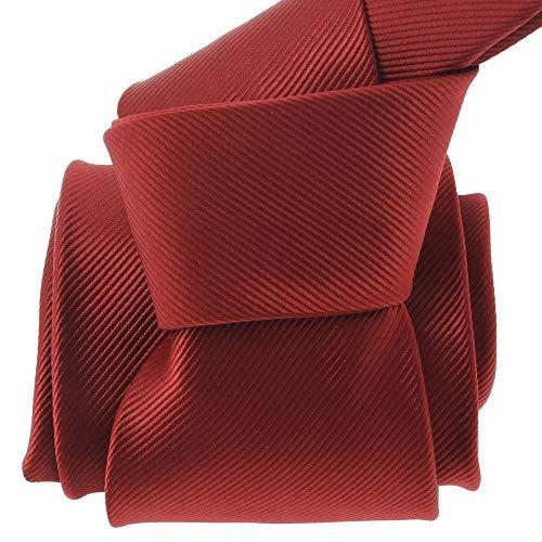 Clj Charles Le Jeune - Cravate Clj, Vigneron, Rouge Bordeaux