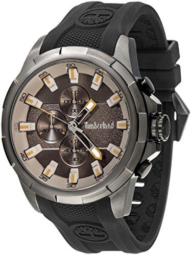 Timberland Boxford Reloj para Hombre Analógico de Cuarzo con Brazalete de Silicona 15253JSU-13P