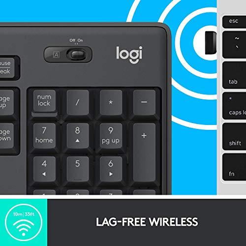 Logitech MK295 Wireless Mouse & Keyboard Combo Product Image