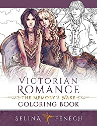 Victorian Romance Coloring Book - Selina Fenech