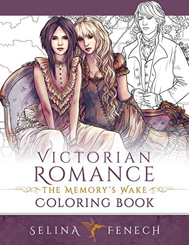 Victorian Romance - The Memory's Wake Coloring Book (Memory's Wake Trilogy...