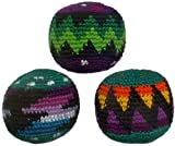 Set of 3 Hacky Sacks, Assorted Colors