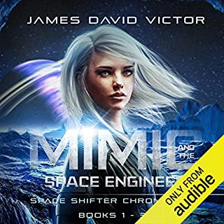 Mimic and the Space Engineer Omnibus audiobook cover art