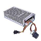 Surebuy Controlador de Velocidad de Motor de CC, Universal de CC10V a CC50V 100A...