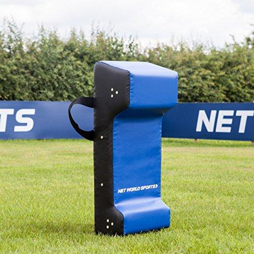 FORZA America Football Tackle Shield Doppelkeil – PVC American Football Tackling Ausrüstung – American Football Trainingsausrüstung (Erwachsene - 94cm groß)