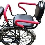 GYYlucky Asiento Trasero De Bicicleta Eléctrica Extraíble, Asiento para Niños, Asiento De Bicicleta Eléctrico, Asiento Trasero, Pedal con Reposabrazos para Bebés, Niños, Bicicleta, Asiento Trasero