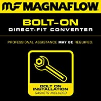 MagnaFlow 23687 ダイレクトフィット 触媒コンバーター (非CARB準拠)。