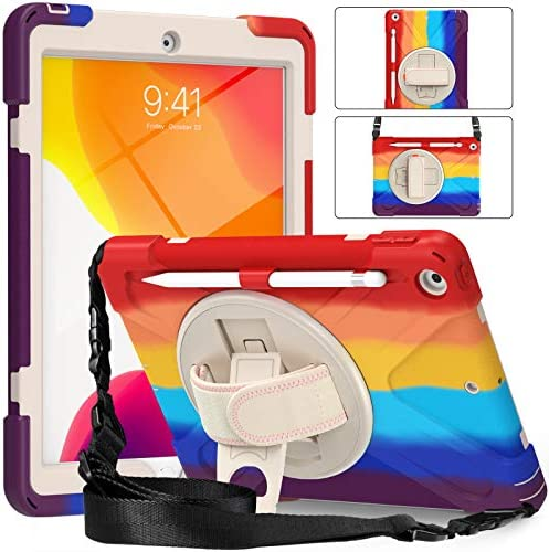 iPad 10 2 Case 2020 iPad Case 8th Generation with Screen Protector TSQQST iPad 7th Generation product image
