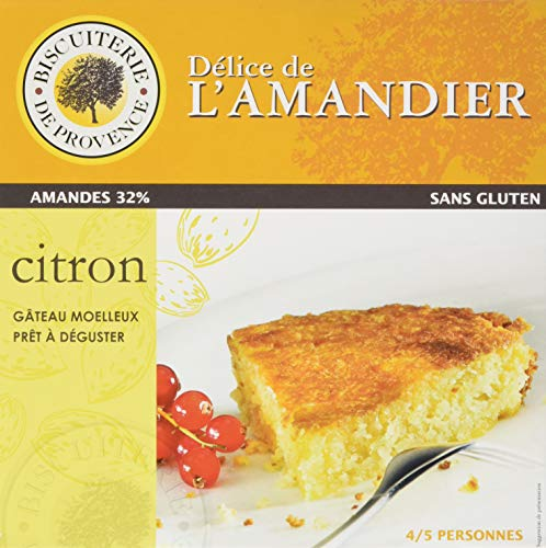 Delice de l\'amandier glutenfreie provenzalische Kuchenspezialität mit Zitrone und Mandel, 1er Pack (1 x 240 g)