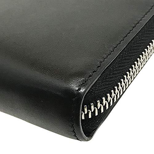 ロエベ長財布レインボージップアラウンドウォレットソフトカーフブラック黒オレンジマルチカラー199N54.F13LOEWEレザー革アナグラムラウンドファスナー長財布財布ロングウォレットサイフ箱付き