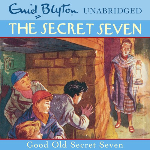 Good Old Secret Seven audiobook cover art