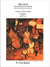 Saint-Saens Camille The Swan from Carnival of the Animals For Cello and Piano by Emilio Colon