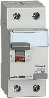 BLOCCO MODULO DIFFERENZIALE SALVAVITA 2P 63A 30MA G2363AC