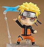 YIGEYI Uzumaki Naruto Nendoroide Anime Action Figura 10 cm Figuras de PVC Figuras Coleccionables Modelo de carácter Estatua Juguetes