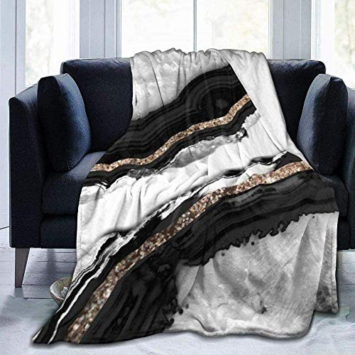AEMAPE Achat Glitter Glam Gem Dekor Kunst Thema Wintermode, warme und Bequeme Decke, 127X102CM