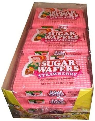 Keebler Strawberry Sugar Wafers Pack of 12 product image