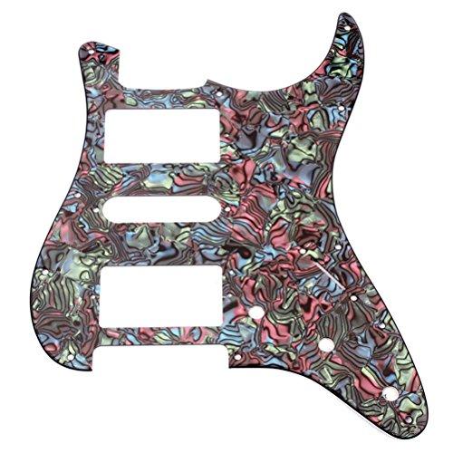 WINOMO Micros de Pickguard de Guitarra Eléctrica Precableada para Guitarra Strat Stratocaster Fender