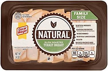 Oscar Mayer Natural Slow Roasted Turkey Breast (14 oz Package)