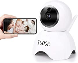 $38 » WiFi Pet Dog Camera TOOGE Pet Monitor Indoor Home Cat Camera for Baby/Elder/Nanny Motion Detection Night Vision 2-Way Audio