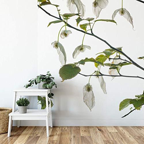 Fotobehang Kadam Dove Tree 192 x 260 cm (bxh) | Hoogwaardige Kwaliteit Vliesbehang | Eenvoudig te Plakken | Bloemen Behang