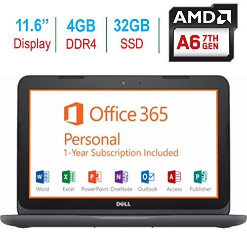 2018 Newest Dell Premium 11.6' Laptop PC, 7th Gen AMD...