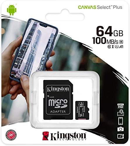 Preisvergleich Produktbild Original Kingston MicroSD SDHC Speicherkarte 64GB Für LG G5 SE - 64GB